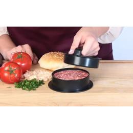 3-in-1 Stuffed Burger Press, Hamburger Patty Maker, and Sliders