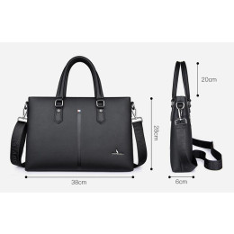 Men's Business leather handbags Bag