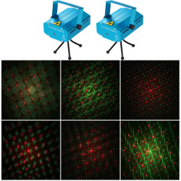 Mini LED Laser Projector Christmas Decorations Laser