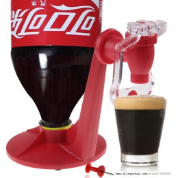 Mini Upside Down Cola Beverage Switch Drinkers
