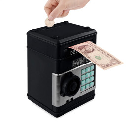 Electronic Piggy Bank ATM Password Money Box