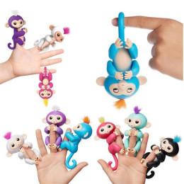 6Colors Cute Smart Interactive Finger Monkey Baby Toy