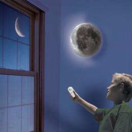 Indoor LED Wall Moon Lamp