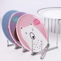 Multifunctional lid plate rack