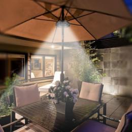 Multifunctional outdoor tent light