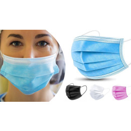 CE Certified Mouth Mask in different colors