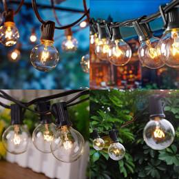 25 lights outdoor rainproof courtyard garden decoration string lights