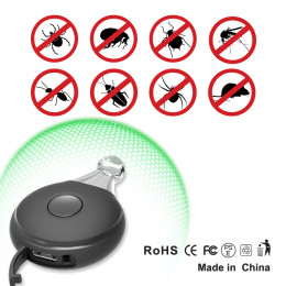 Outdoor portable ultrasonic insect repellent