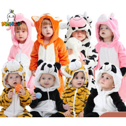 Onepiece Animal Pajamas for children