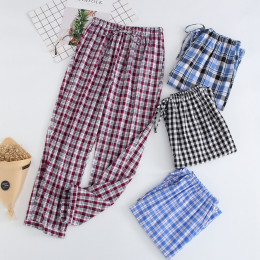Men's Plaid Flannel Pajama Pants