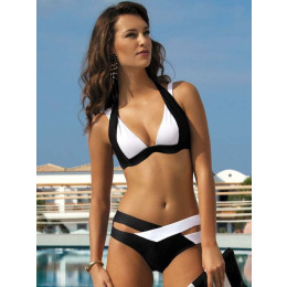 Summer Sexy Patchwork Bandage Bikini