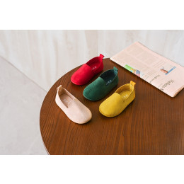 Children's Suede Peas shoes