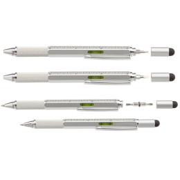 Six-in-One Construction Tool Pens