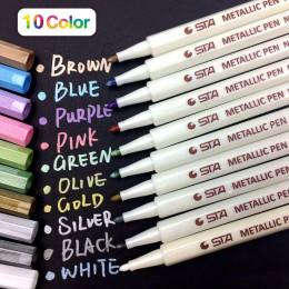 Set of 10 Metallic Markers