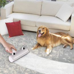 Reusable pet dog fur hair remover roller sofa clothes cleaning brush pet reusable dog cat hair remover