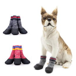 Pet Dog Outdoor Non-slip Waterproof Socks Footwear