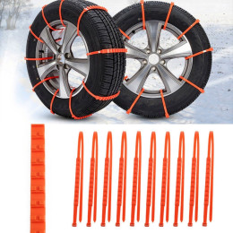 Car Universal Mini Plastic Winter Tyres wheels Snow Chains For Cars