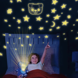 Plush starry dream projection lamp