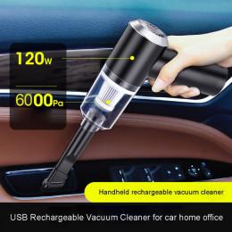 Portable wireless car vacuum cleaner