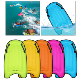 Portable inflatable surfboard