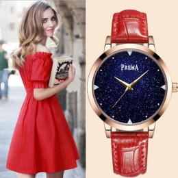 Lady Starry sky quartz Wrist Watch