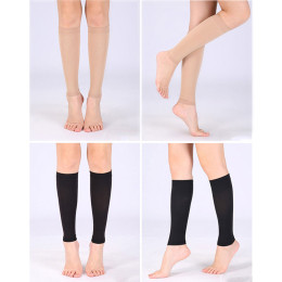 Pressure protection calf sleeve secondary elastic stockings