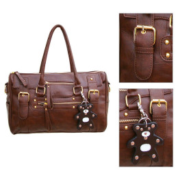 Women PU Leather Handbag Satchel Bag