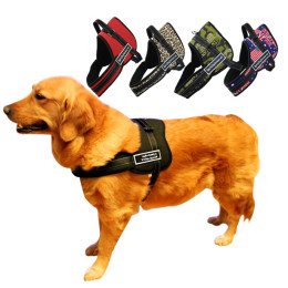 Nylon Pet Dogs Pulling Training Harness