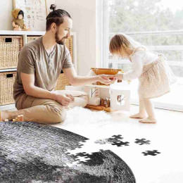 The Moon And Earth Puzzle 1000 Pieces Difficult for Adult Jigsaw Puzzle Toys