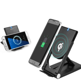 Folding QI Wireless Charging Stand