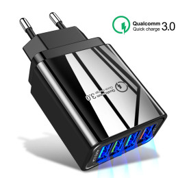 Quick Charge3.0 4 USB EU Charger