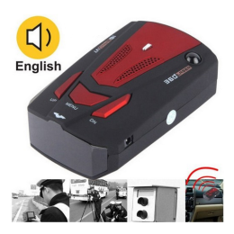 Car speed camera detector