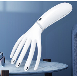 Electronic finger shape head massager