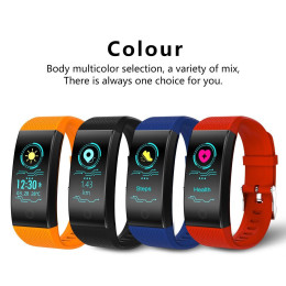 QW18 Smart Wristband IP68 Waterproof Fitness Bracelet