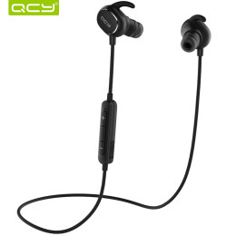 QCY QY19 IPX4-rated sweatproof bluetooth 4.1 aptx headphones that work sports wireless stereo headphones earphones with Mic