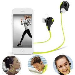 QY7 Bluetooth V4.1 Earphone Sport Wireless Headphones