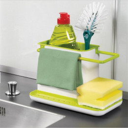 Self Draining Sink Storage Rack
