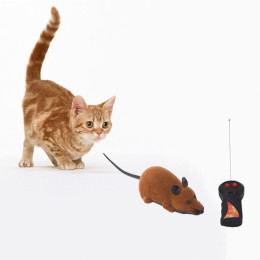 Funny Pet Cat Wireless Rat Toy