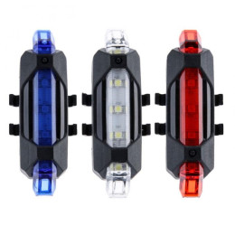 USB Rechargeable Bike Bicycle Tail Rear light