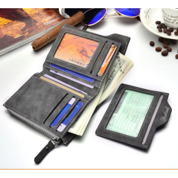 Removable card slots multifunction men wallet