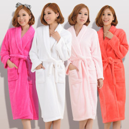 Soft Velvet Bath Robe