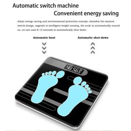 Bathroom body scales electronic smart glass home digital floor balance