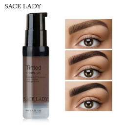 SACE LADY Henna Eyebrow Dye Gel Waterproof Makeup Shadow For EyeBrow