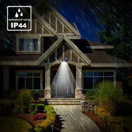 Flood light sensor light 12LED street light corridor eaves garden light waterproof outdoor solar wall light