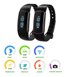 SH07 Smart Bluetooth 4.0 Sports Bracelet
