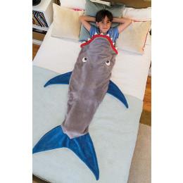 Sleeping Sharks Children Cartoon Sleeping Bag