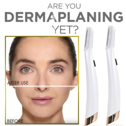 Dermaplane Face Care Lighted Facial Dermaplaning and Hair Remover