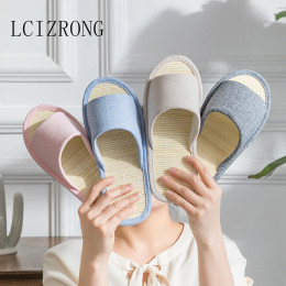 Bamboo Insole Indoor Home Slippers