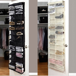 26 Pockets PVC Shoe Rack