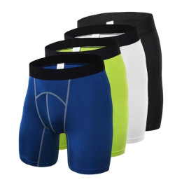 Male Gym-Clothing Compression Tights Shorts